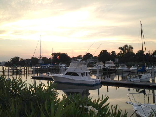 Beautiful Southern Chesapeake Bay in Hampton, VA