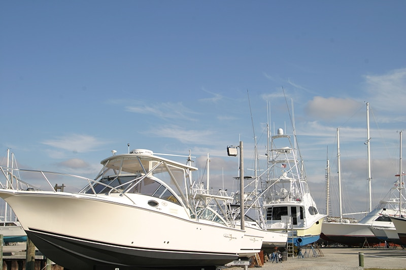 Jarrett Bay Marine Park in Beaufort, NC